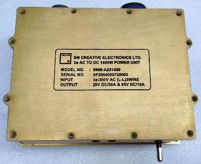 Power Supply for Naval communication system